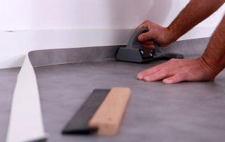 Пол под линолеум на бетонный пол: подготовка и укладка