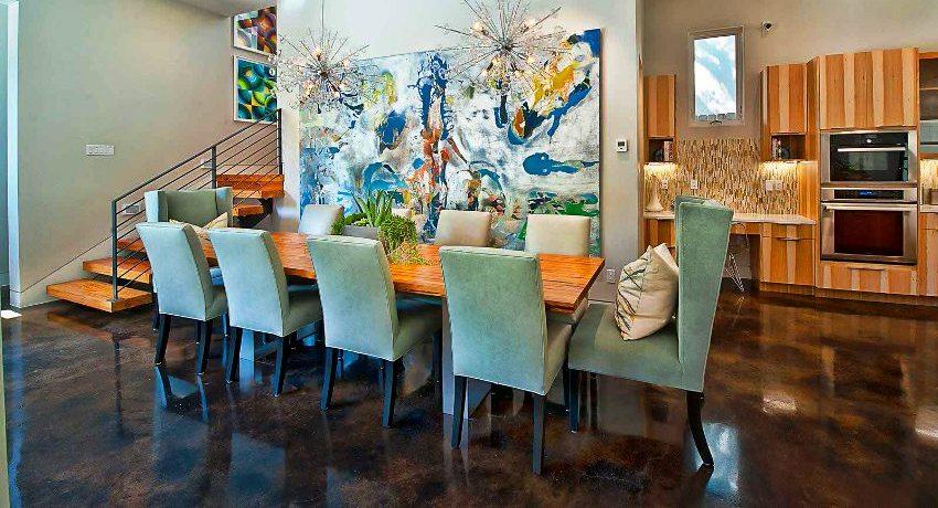 Полы на кухне, что лучше: плитка, ламинат, наливной пол или линолеум