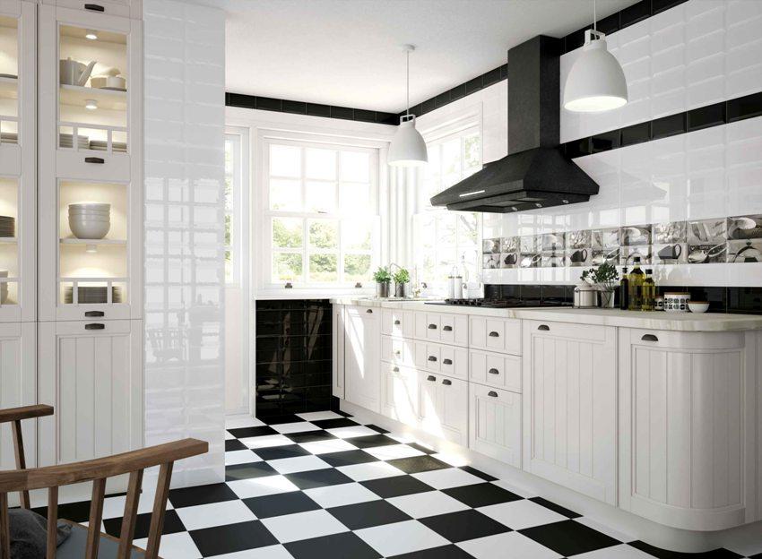 Идеальные полы на кухне должны быть влагостойкими, легко отмываться, иметь прочную поверхность и вписываться в общий дизайн