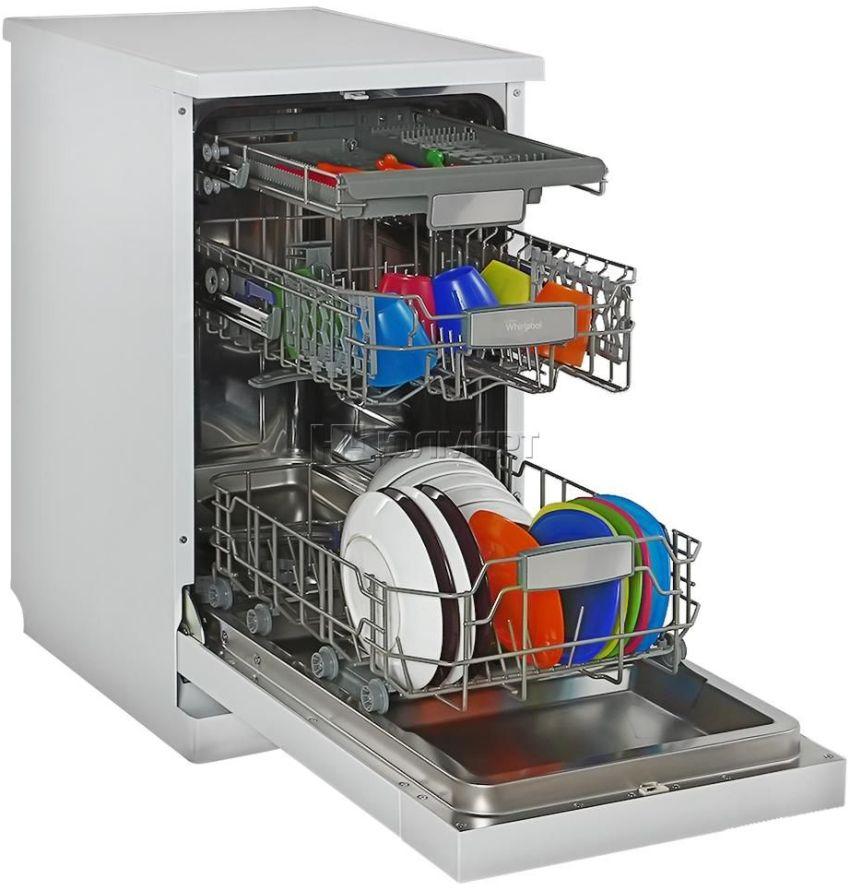 Посудомоечные машины под раковину отличаются от обычных тем, что они достаточно узкие