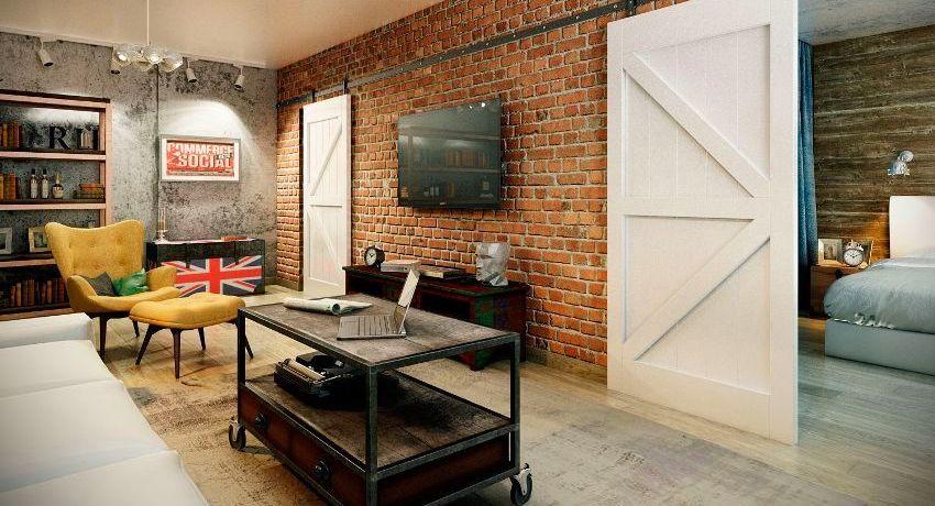 Дизайн типового проекта однокомнатной квартиры серии