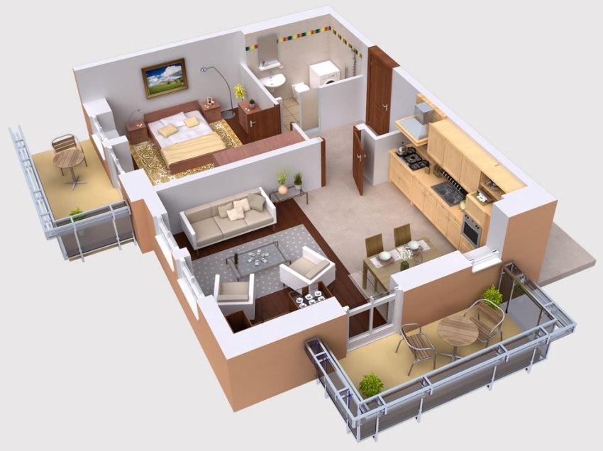 3D визуализация интерьера – один из инструментов современного дизайнера, обеспечивающего возможность создания объёмного изображения дизайна помещения