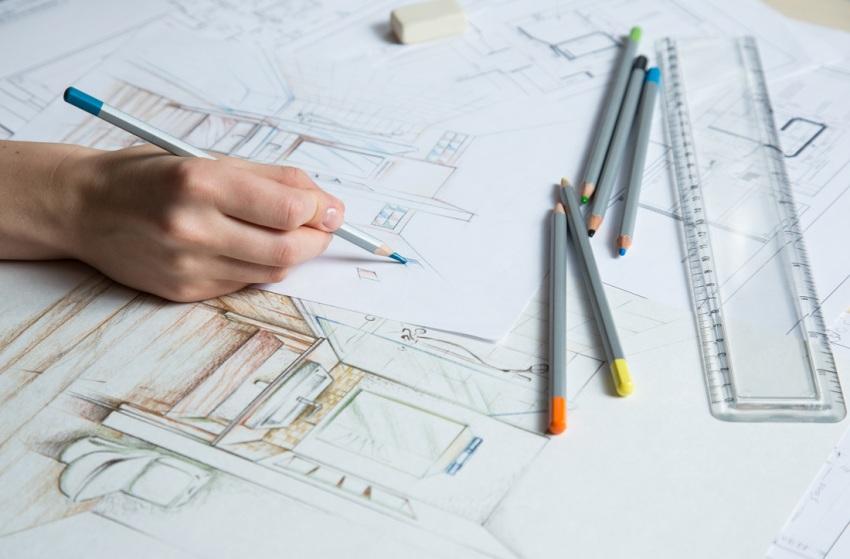 Важным этапом в создании проекта, является разработка эскизов будущего интерьера
