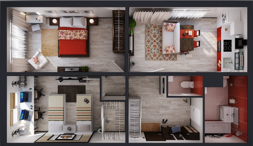 Планируя ремонт или желая обновить интерьер квартиры, нужно визуально представить, как оно будет выглядеть после ремонта