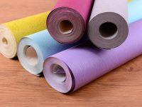 Использовать можно любые типы обоев: бумажные, на флизелиновой основе