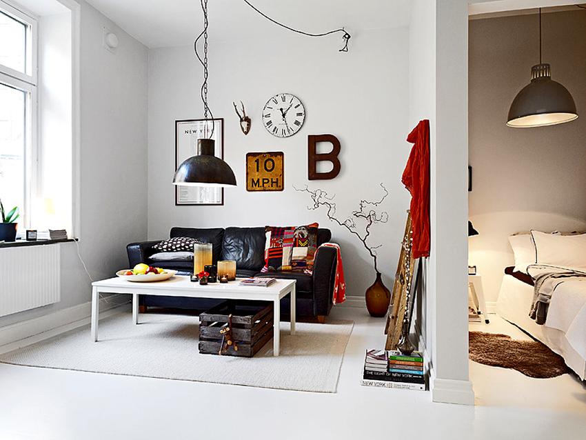 В самом начале нужно решить, какая мебель будет находиться в комнате