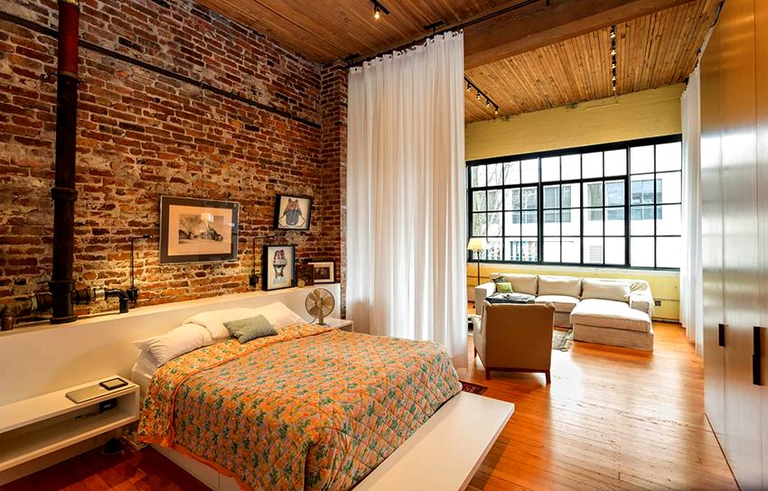 Не рекомендуется использовать много аксессуаров, так как комната может казалась захламленной