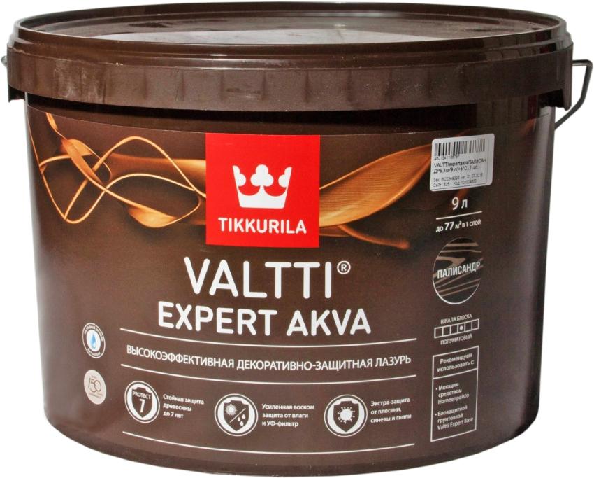 Прекрасно зарекомендовали себя на рынке антисептики бренда Tikkurila