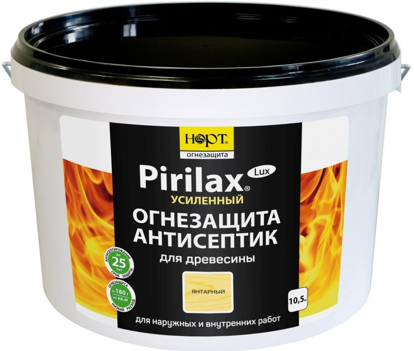 Антисептик с огнезащитой Pirilax обладает широким спектром действия