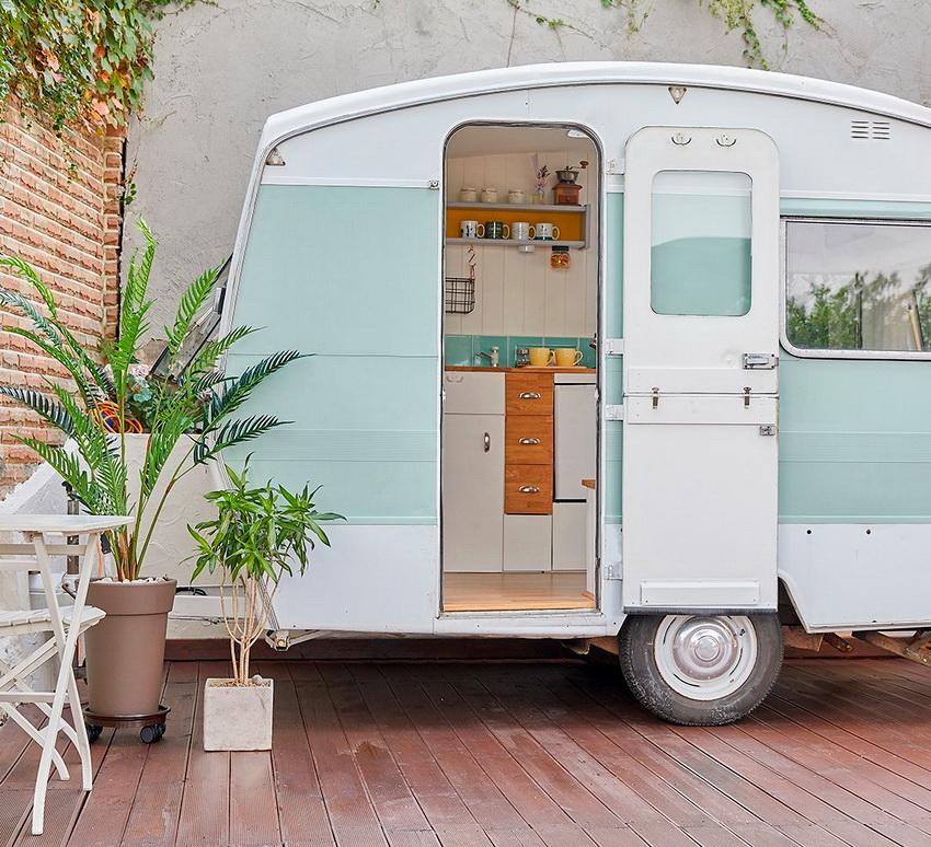 Некоторые дома на колесах могут использоваться в любое время года, а некоторые только летом