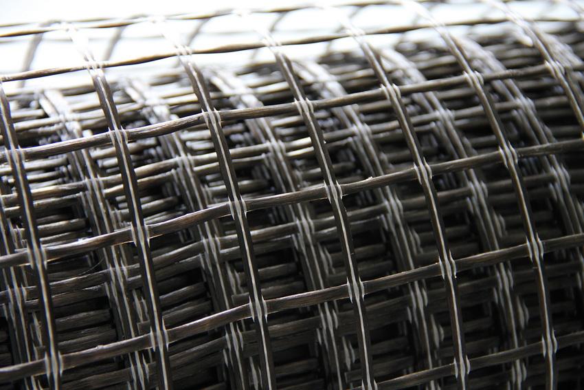 Сетка из базальтовых волокон отличается эластичностью и прочностью