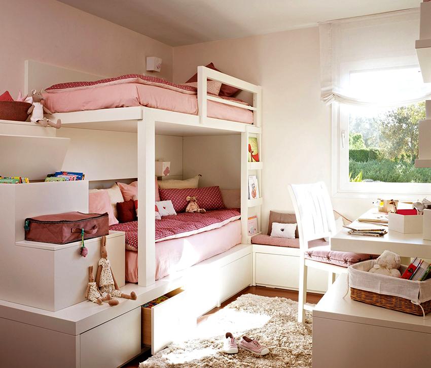Детская кровать должна быть устойчивой, прочной и максимально безопасной