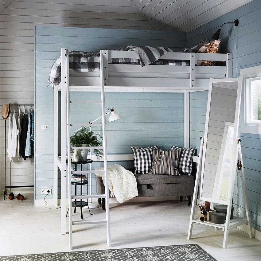 Вариантов двухъярусных кроватей очень много, поэтому подобрать модель под дизайн помещения не составит труда