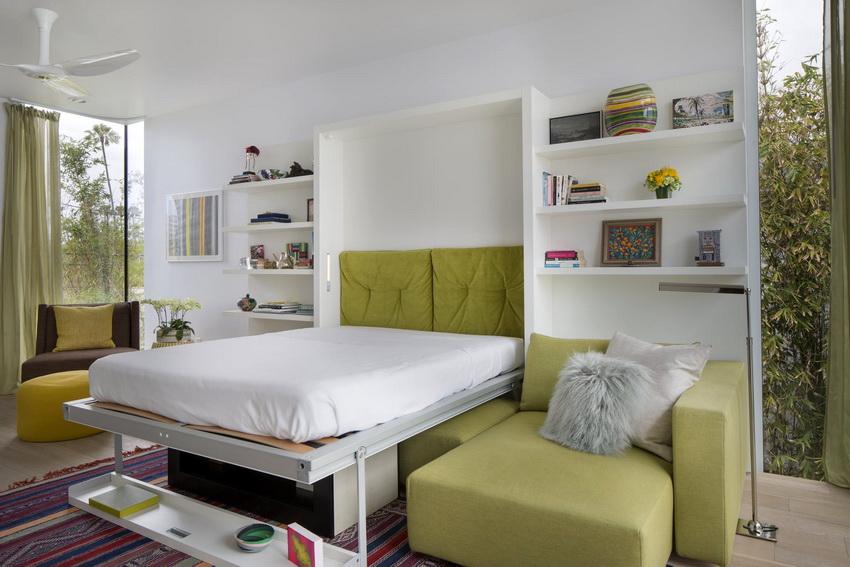 Трансформируемый диван-кровать отличается универсальностью и поэтому идеален для оптимизации пространства