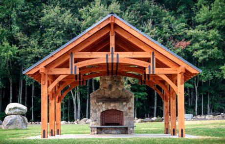 Мангал с крышей: стильное украшение участка и функциональный дизайн