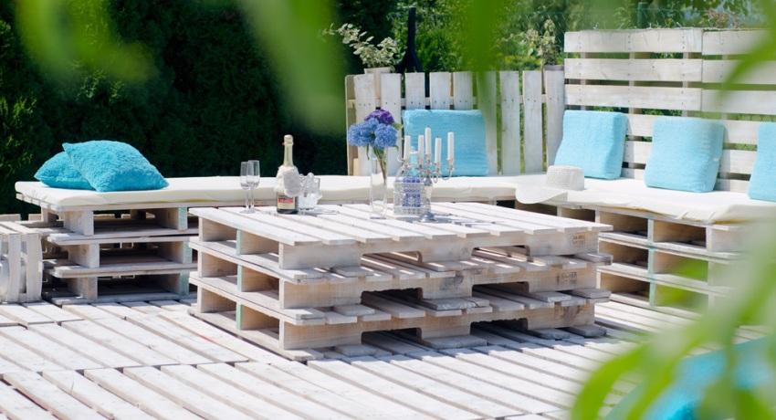 Мебель из поддонов: интересные идеи для дома и сада, технологии изготовления