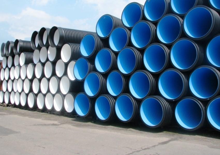 Длина неразъемных пластиковых колец может достигать 5 метров, что значительно упрощает их монтаж