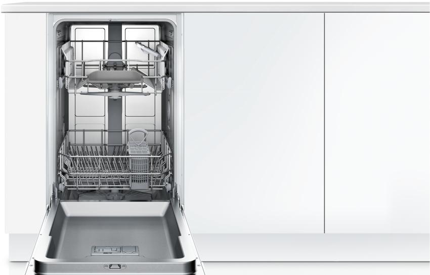 Посудомоечная машина Bosch SPV 40X80 имеет ширину 45 см