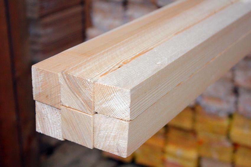 Количество бруса в 1 кубометре напрямую зависит от величины сечения материала