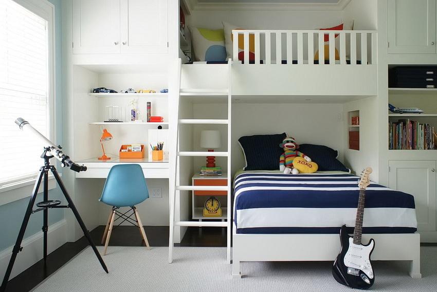 Для детской комнаты наилучший вариант ом будет кровать изготовленная из натуральных экологически чистых материалов