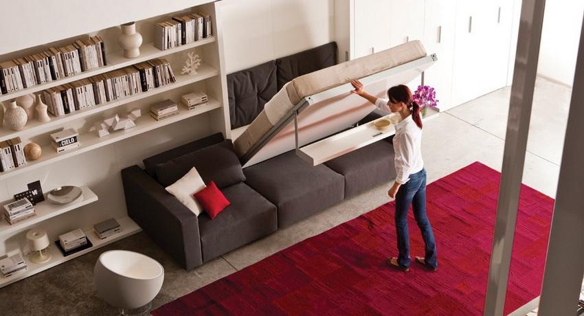Встроенная в шкаф кровать: эргономичный и современный элемент интерьера