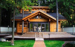 Баня-дом: проекты впечатляющих и стильных тандемов