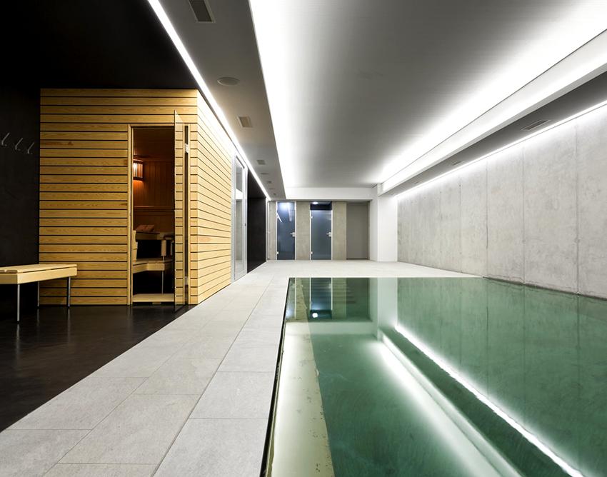 При проектировании бассейна нужно учитывать зону размещения, условия эксплуатации и его габариты