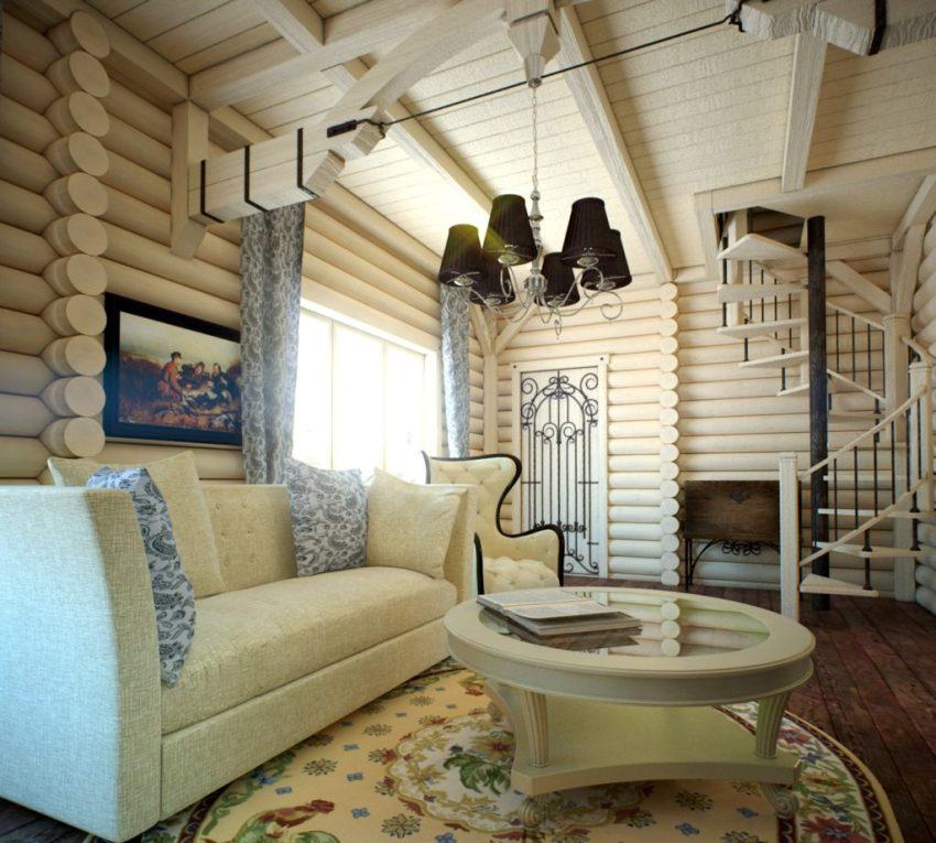 Материал для отделки потолков в доме, должен гармонировать с другими элементами помещения, создавая единый дизайн