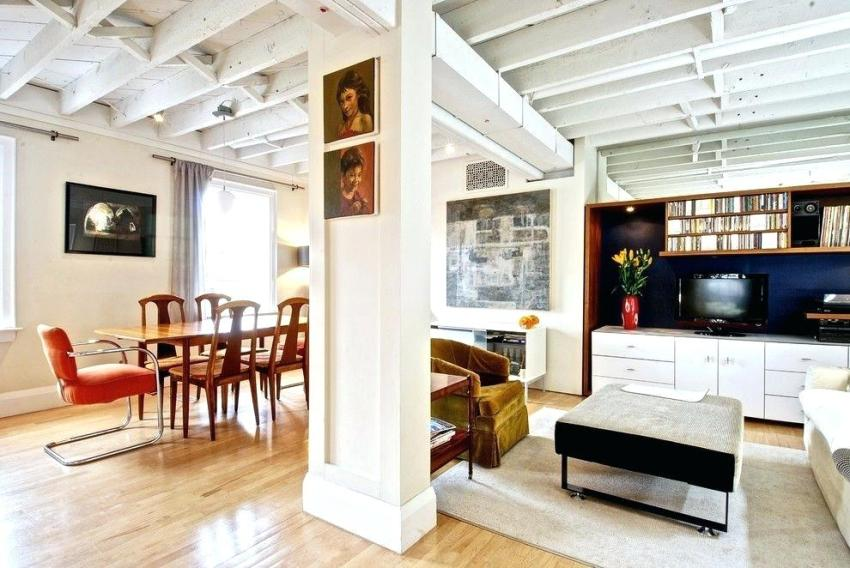 Покраска деревянного потолка – важная процедура, продляющая его службу