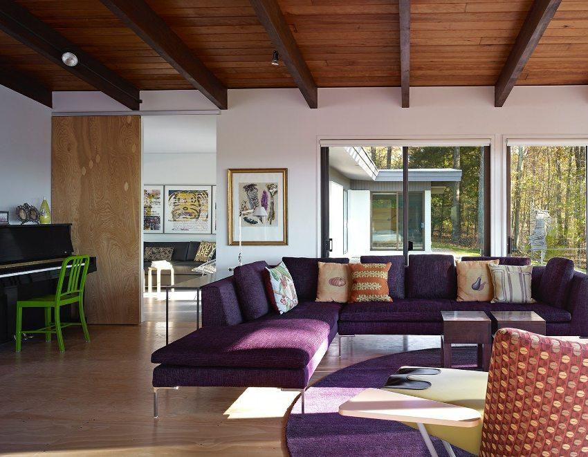 Отделка потолка должна быть лёгкой, удерживать тепло и обеспечивать звукоизоляцию