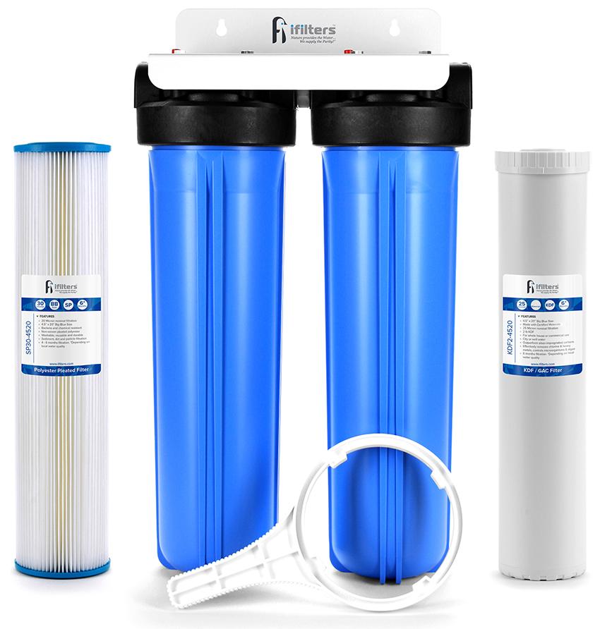 Фильтры бывают гравийные, трубчатые, сетчатые и проволочные
