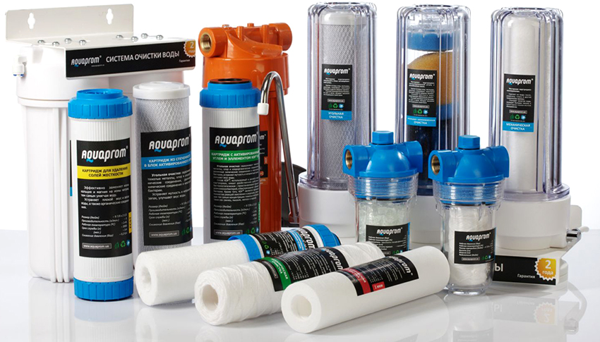 Правильный фильтр не только способен очистить воду, но также и защитить оборудование от вредных примесей