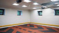 Осветительная система в гараже бывает двух типов: общая и локальная