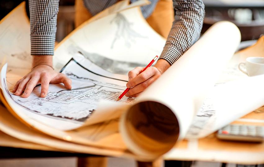 Первый и главный этап в создание гаража – это составление детального эскиза