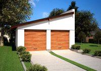 Отдельно стоящие гаражи располагаются на участке возле дома или квартиры