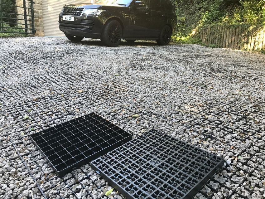 Выбор георешетки для парковки зависит от местоположения и предполагаемых нагрузок будущей стоянки