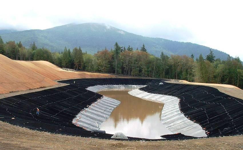 Чем круче склон реки или пруда, тем меньше ячейку следует использовать