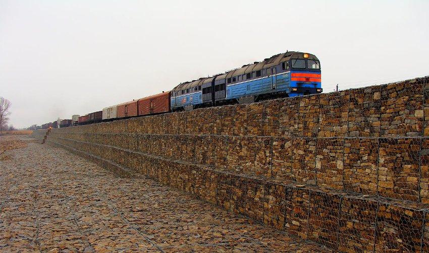 Георешетка в железнодорожном строительстве – отличная альтернатива традиционным способам укрепления