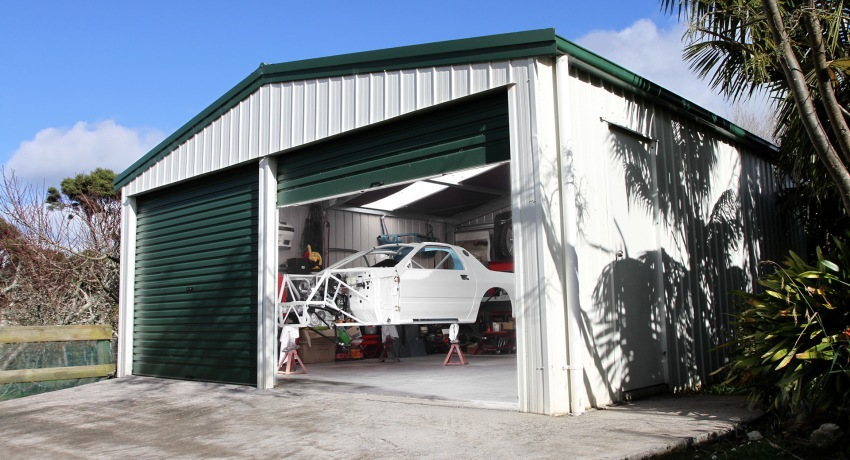 Постройка гаража 10
