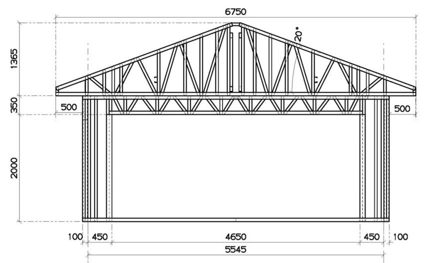 Перед постройкой каркасного гаража лучше обзавестись планом сооружения