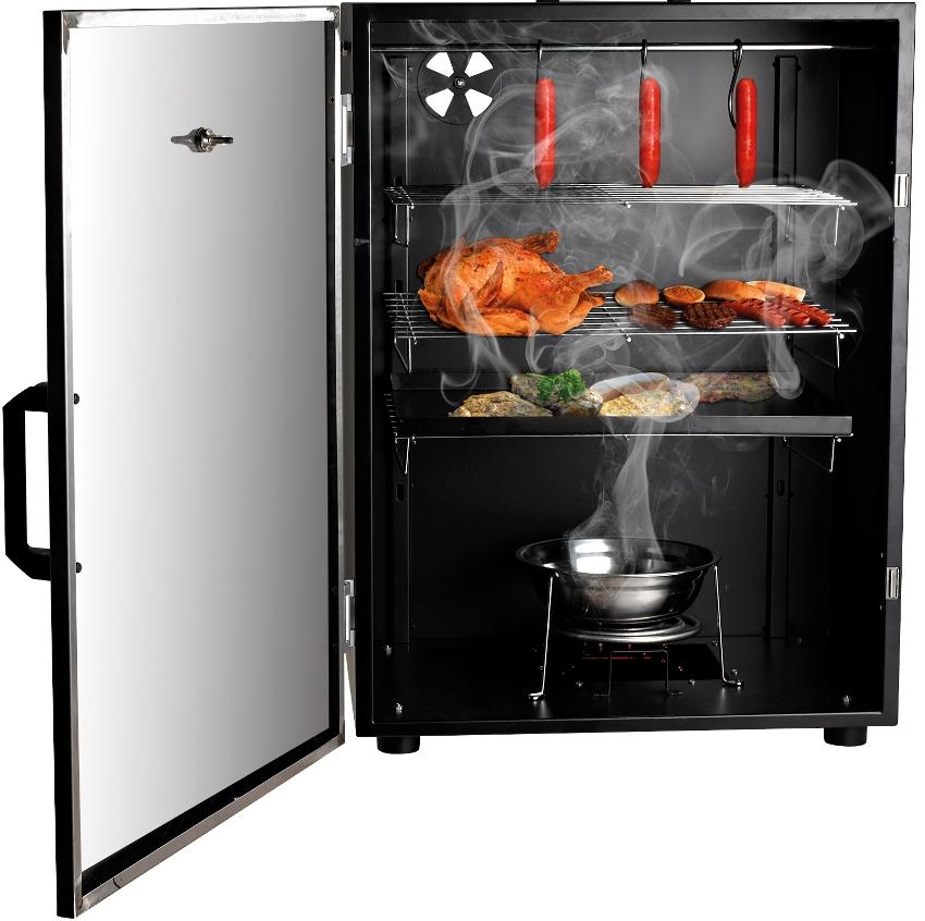 Коптильня из холодильника подойдет для копчения холодного типа, в температурном режиме 18-30° С