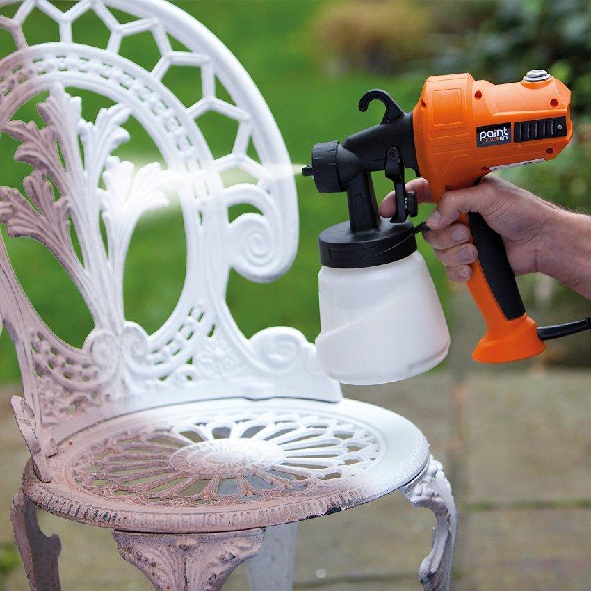 Краскопульты широко применяются для реставрации мебели и бытовой электротехники