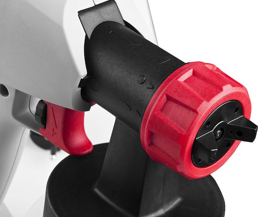 Краскопульт Зубр КПЭ-500 изготовлен исключительно из российских комплектующих, что обуславливает его доступную цену, простоту ремонта и обслуживания