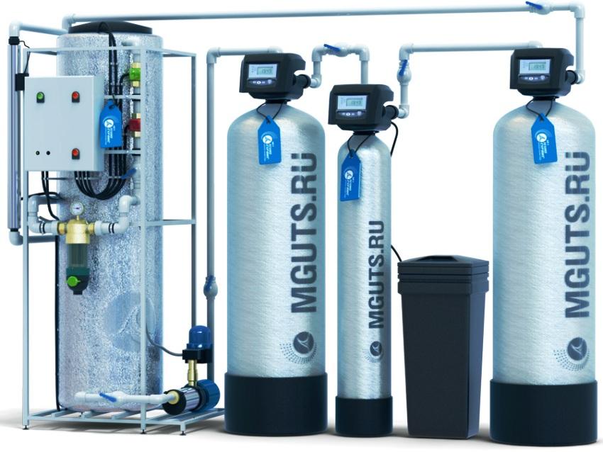 Выбор оборудования и объема контактной емкости для безнапорной аэрации воды зависит от многих факторов