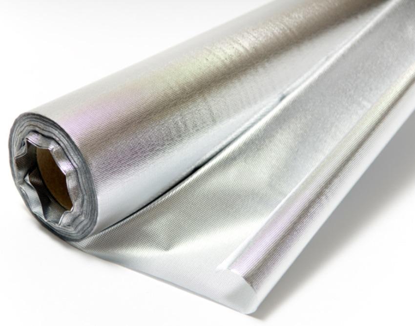 Гидро-пароизоляция - двухслойный материал на основе высокопрочного полипропиленового тканного полотна