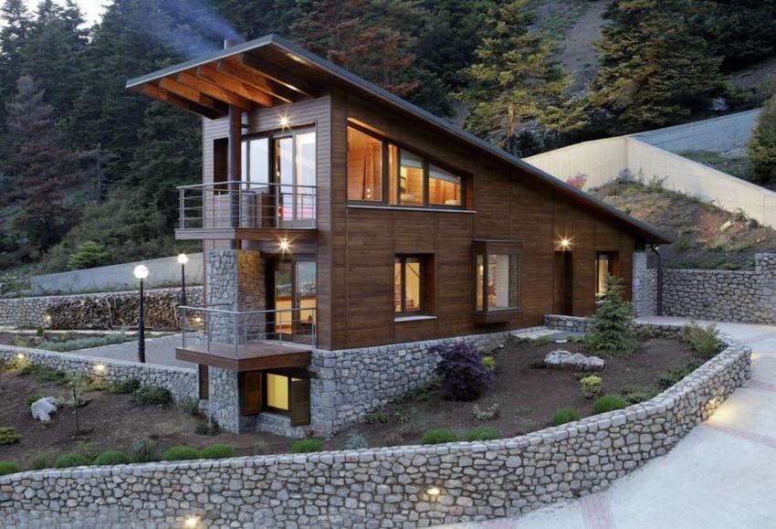 Проекты домов с цокольным этажом становятся все более популярными в современном строительстве