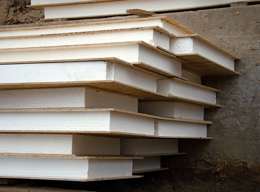 Наиболее популярным материалом для утепления домов является пенопласт