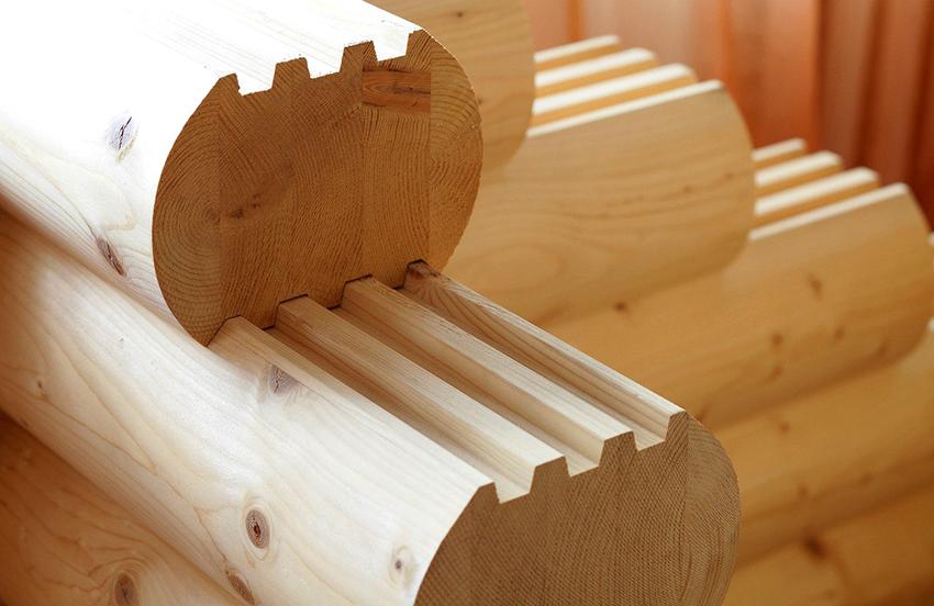 Популярным материалом для строительства домов является древесина