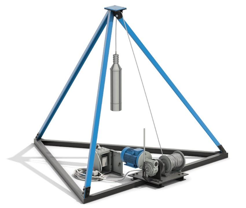 Канатно-ударное оборудование для бурения скважин