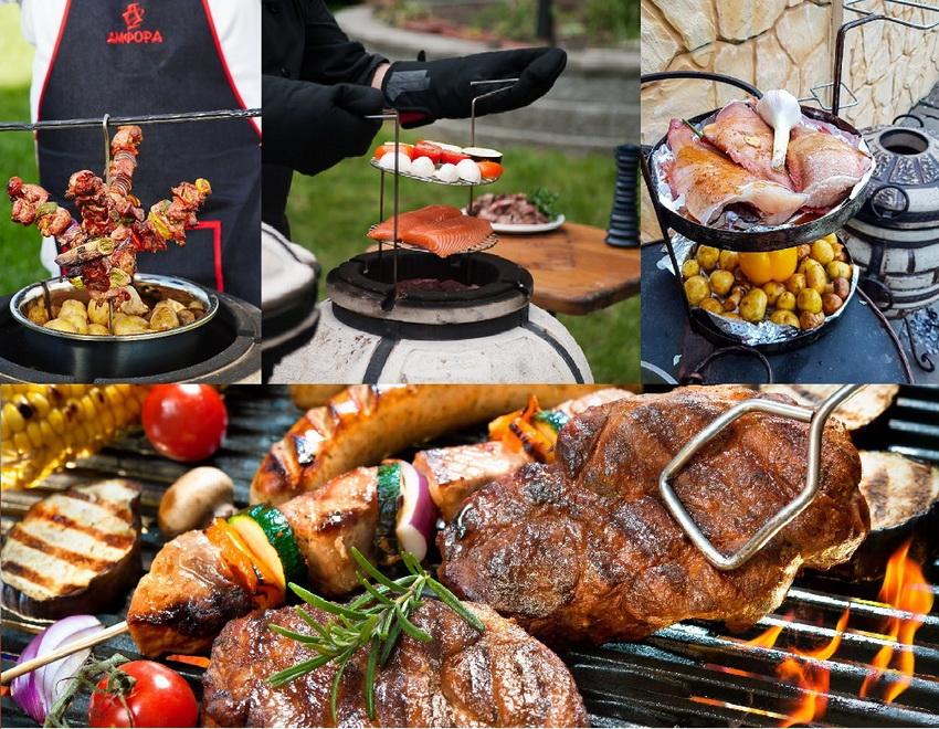 В тандыре можно готовить прочти все - овощи, мясо, рыбу и т. д.